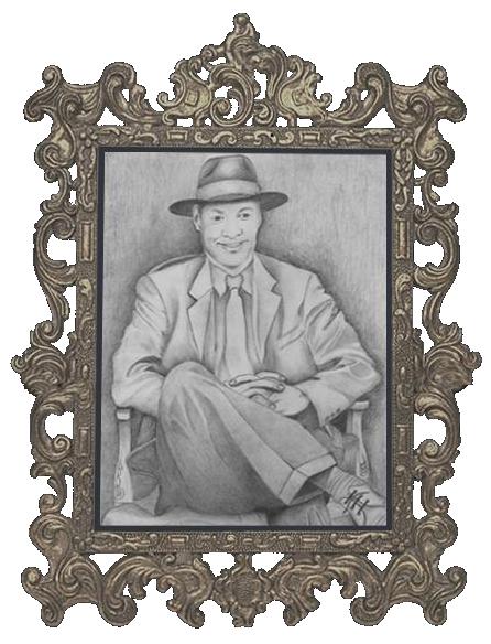 Self Portrait on Pencil